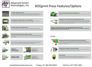 ROQ Press Features & Options