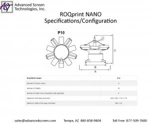 ROQ NANO Spec Sheet