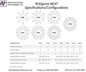 ROQ NEXT Spec Sheet
