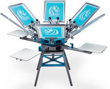 Workhorse 6-color,4-Station Press
