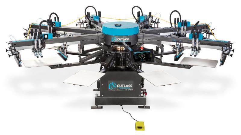 Workhorse Cutlass Automatic Printing Press